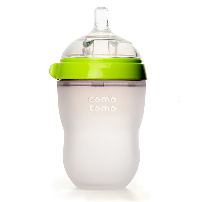Alternate image 1 for comotomo® 8-Ounce Baby Bottle in Green