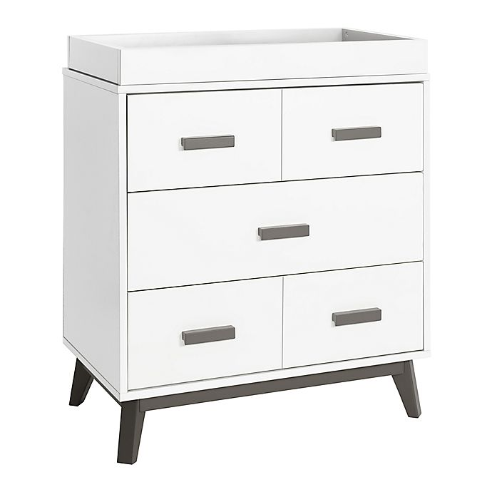 Alternate image 1 for Babyletto Scoot 3-Drawer Changer Dresser