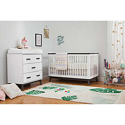 Babyletto Scoot Nursery Furniture Collection in White/Slate