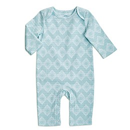 aden + anais® Ziggy Long-Sleeve Coverall in Blue