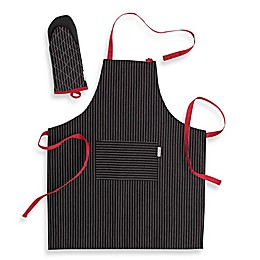 Canadian Living 2-Piece Basic Apron and Shark Mitt Kitchen Set
