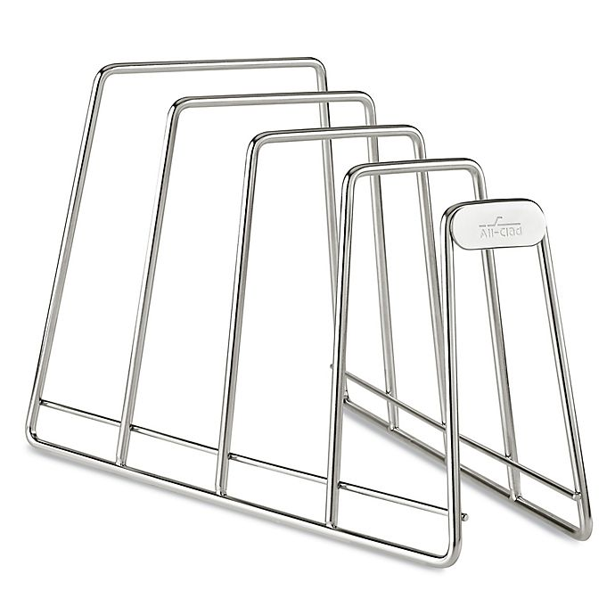 Alternate image 1 for All-Clad D3 Compact Stainless Steel Cookware Organizer