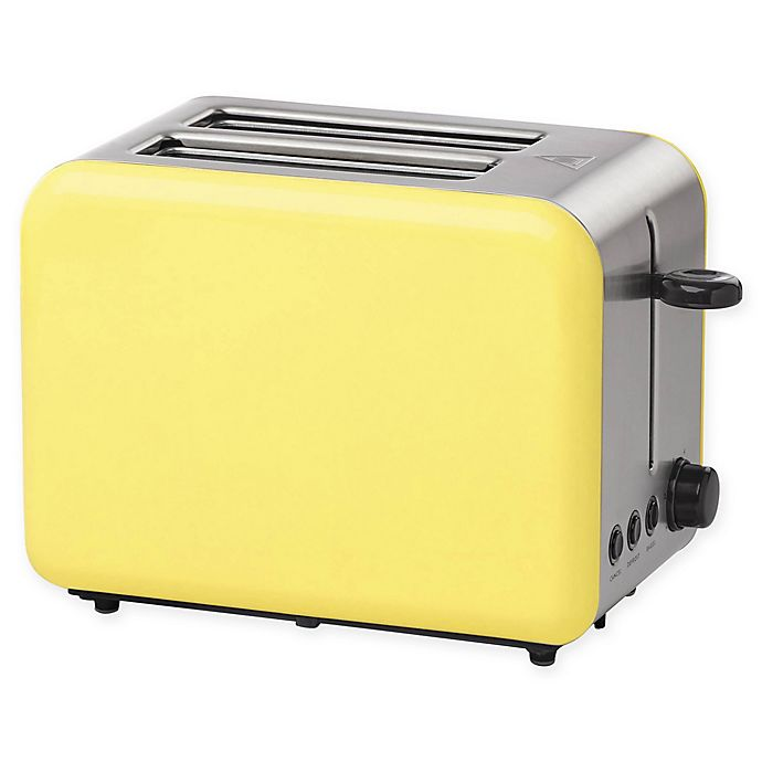 Alternate image 1 for kate spade new york 2-Slice Toaster in Yellow