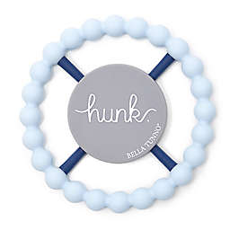 Bella Tunno Hunk Silicone Teether in Blue