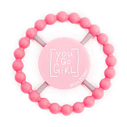 "Bella Tunno™ ""You Go Girl"" Teether in Pink"