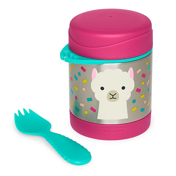 Alternate image 1 for SKIP*HOP® Zoo Insulated Llama Food Jar