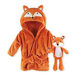 Hudson Baby® Size 0-9M 2-Piece Fox Snuggle Time Box Set