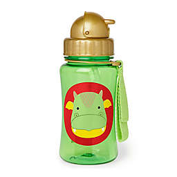 SKIP*HOP® Zoo Dragon 12 oz. Straw Bottle in Green