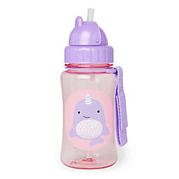 SKIP*HOP® Zoo Narwhal 12 oz. Straw Bottle