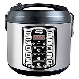 Aroma® 20-Cup Cooked Digital Rice Cooker and Multicooker