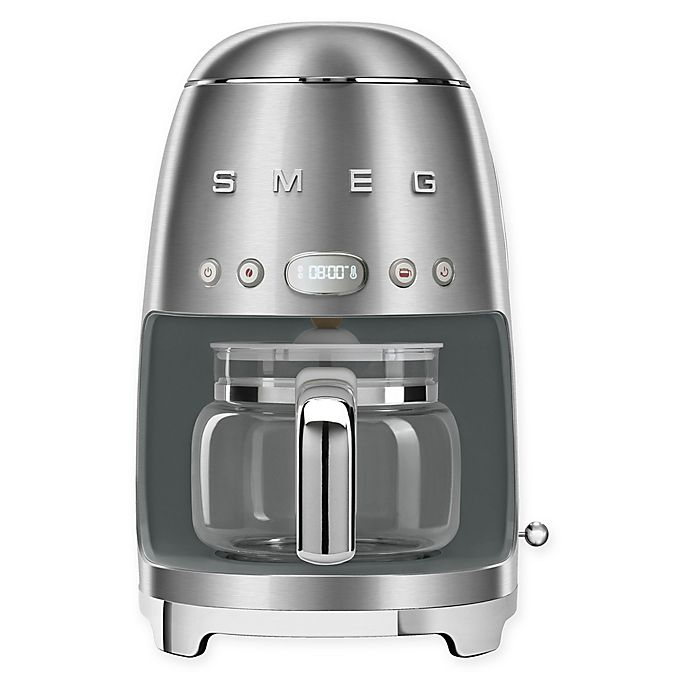 Alternate image 1 for SMEG 50s Retro Style 10-Cup Drip-Filter Coffee Maker