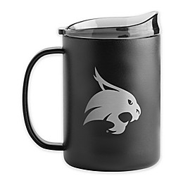 Texas State University 15 oz. Powder-Coated Stainless Steel Ultra Mug