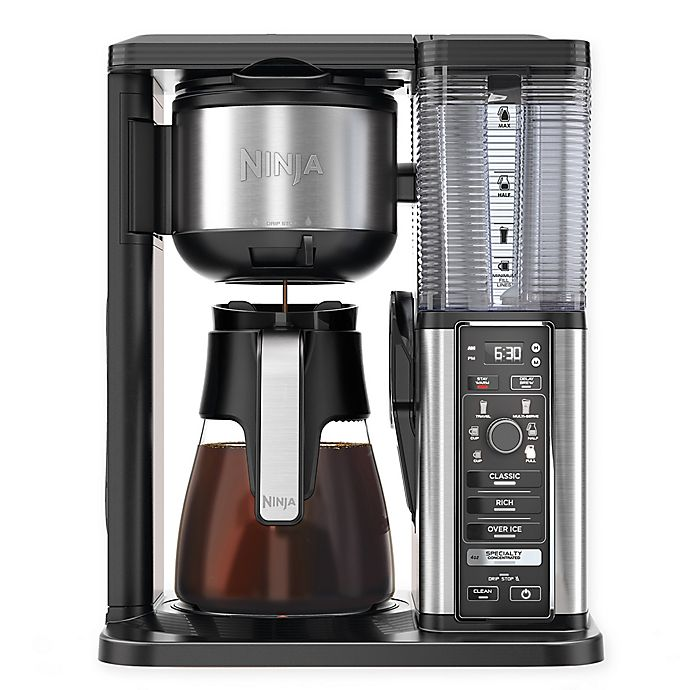 Alternate image 1 for Ninja® 10-Cup Stainless Steel Specialty Coffee Maker