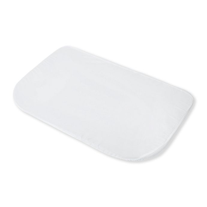 Alternate image 1 for Baby Delight™ Fitted Bassinet Sheet in White