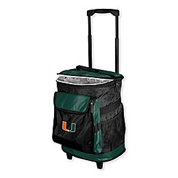 University of Miami Rolling Cooler