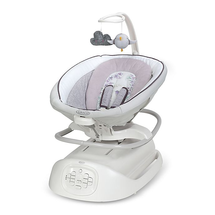 Alternate image 1 for Graco® Sense2Soothe™ Swing with Cry Detection™ Technology in Birdie