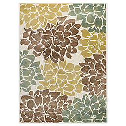 Tayse Rugs Molly Area Rug in Ivory