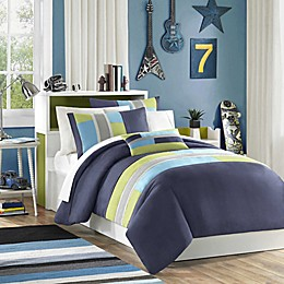 Mizone Pipeline Reversible Comforter Set