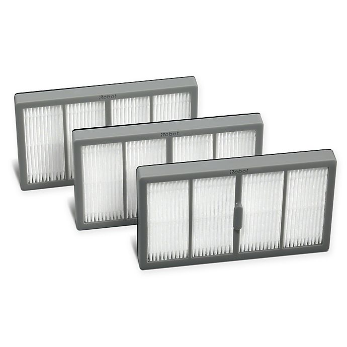 Alternate image 1 for iRobot® 3-Pack Roomba S Series High Efficiency Filters