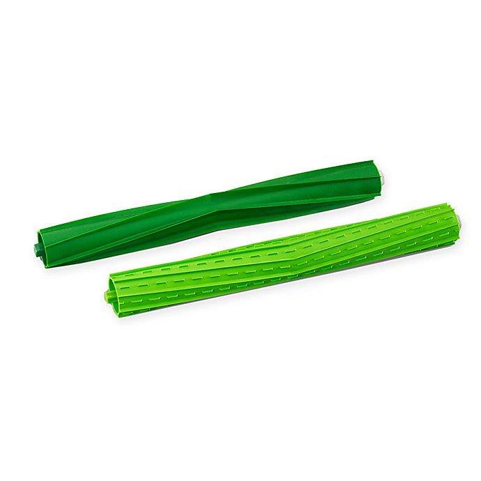 Alternate image 1 for iRobot® Roomba S Series 2-Piece Multi-Surface Rubber Brushes Set in Green