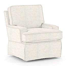 Best Chairs Custom Trinity Swivel Glider