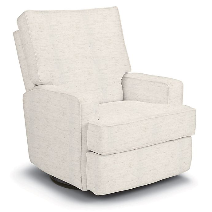 Alternate image 1 for Best Chairs Custom Kersey Swivel Glider Recliner