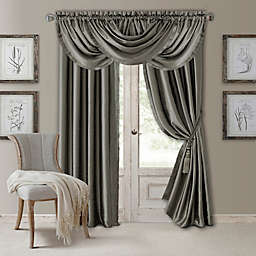 Versailles Waterfall Window Curtain Panel and Valance