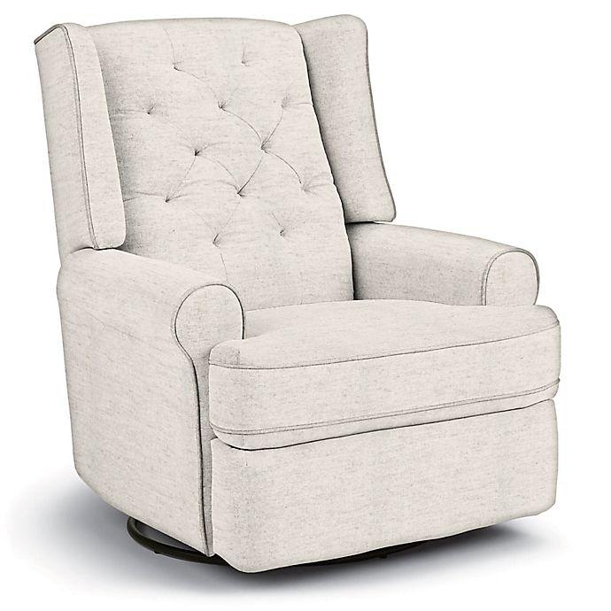 Alternate image 1 for Best Chairs Custom Finley Swivel Glider Recliner