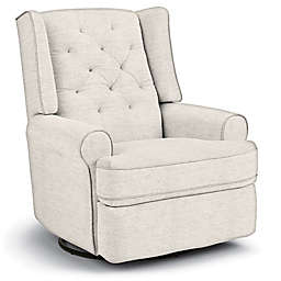 Best Chairs Custom Finley Swivel Glider Recliner