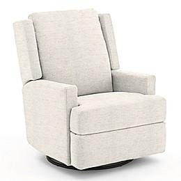 Best Chairs Custom Ainsley Swivel Glider Recliner