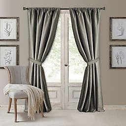 Versailles Waterfall Rod Pocket Window Curtain Panel (Single)