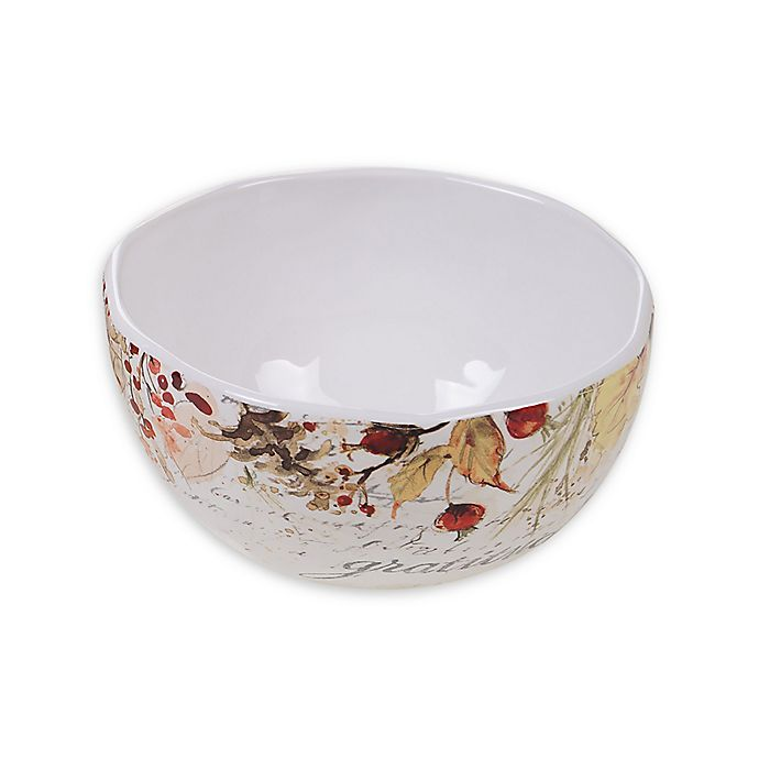 Alternate image 1 for Certified International Harvest Splash Ice Cream Bowls (Set of 4)