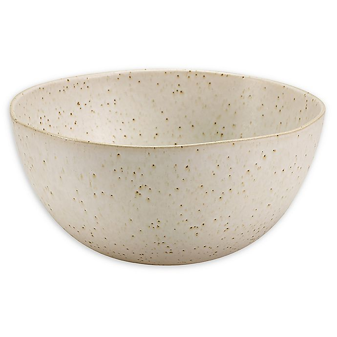 Alternate image 1 for Over and Back® Porto 10.2-Inch Serving Bowl in Cream