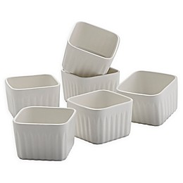 Over and Back® Benton Square Ramekins (Set of 6)
