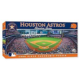 MLB Houston Astros Panoramic Stadium 1000-Piece Jigsaw Puzzle