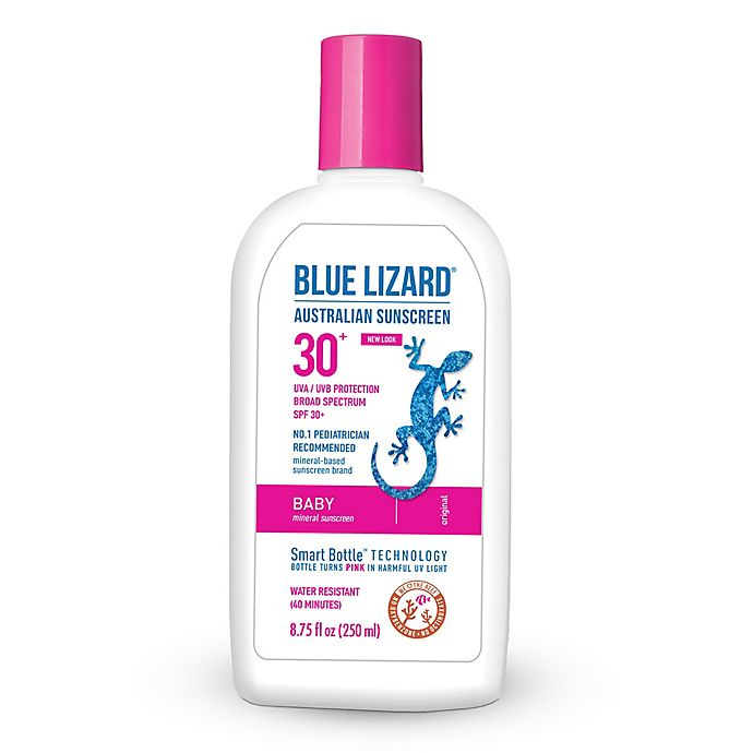 Alternate image 1 for Blue Lizard 8.75 oz. Mineral Baby SPF 30+ Australian Sunscreen