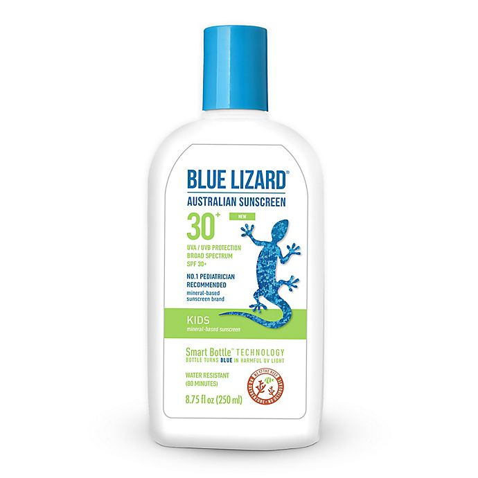 Alternate image 1 for Blue Lizard 8.75 oz. Mineral Based SPF 30+ Kids Australian Sunscreen