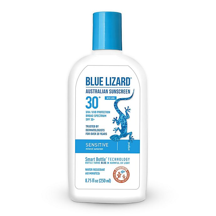 Alternate image 1 for Blue Lizard 8.75 fl. oz. Mineral Sensitive SPF 30+ Australian Sunscreen