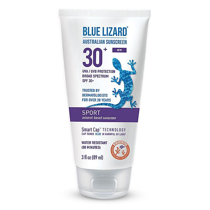 Alternate image 1 for Blue Lizard 3 fl.oz. Sport SPF 30+ Fragrance-Free Australian Sunscreen