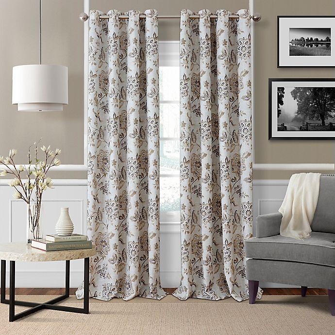 Soro Grommet Room Darkening Window, Bed Bath And Beyond Living Room Curtains
