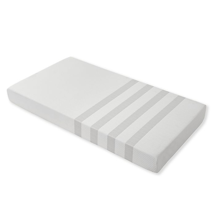 Alternate image 1 for Imagio Baby By Westwood Design Dual Foam Mattress in White/Grey