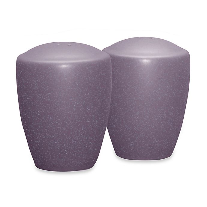 Alternate image 1 for Noritake® Colorwave Salt and Pepper Shakers in Plum