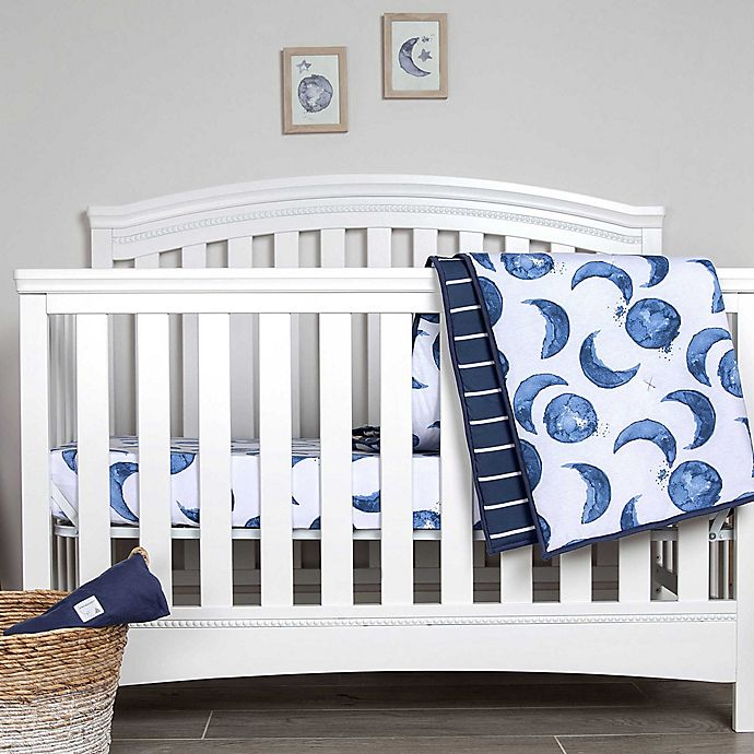 Alternate image 1 for Burt's Bees Baby® Hello Moon Organic Cotton Bedding Collection