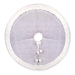 Bee & Willow™ Christmas Tree Skirt in Grey