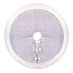 Bee & Willow™ Home Christmas Tree Skirt in Grey