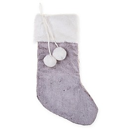 Bee & Willow™ Holiday Stocking in Grey