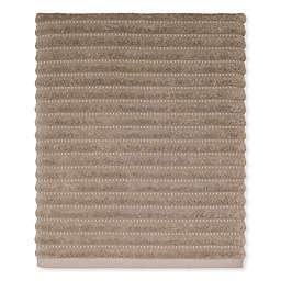 Avanti Ticking Stripe Bath Towel in Tan