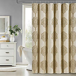 J. Queen New York Constance Shower Curtain in Gold