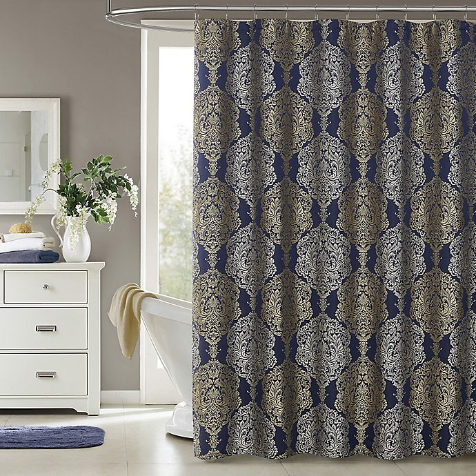 Alternate image 1 for J. Queen New York Constance Shower Curtain