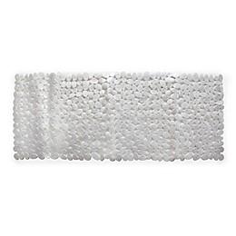 Splash Home Rocks Tub Mat in Grey